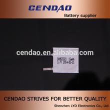 rechargeable 3.7V 052323 15mah electronic card key doors battery cell for electronic card key doors