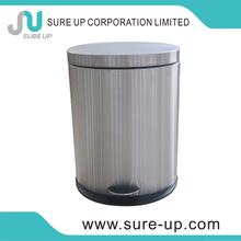 Classical plastic bin with lids kitchen cupboard pull out hidden bins(DSUD)
