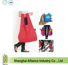 Waterproof Resueable Polyester Folding Shopping Bag(TMJ-82574)