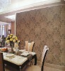 brown felt wall covering