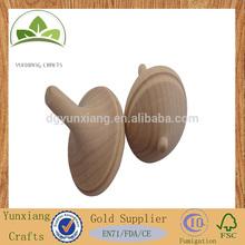 wooden peg-top wooden spinning top