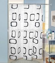 100%Vinyl Made in China walmart hotel Shower Curtains