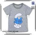 Nouveau printemps enfants t-shirt 100% coton de marque fraîche boy manches longues t shirt 3 couleur enfants vêtements