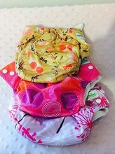 Bright Color Cloth Baby Diapers with 1 Insert Per Diaper
