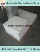 High capability of anti-abrasion 100% virgin material white PTFE sheets