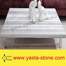 Hot Sale Cheap Marmara White Marble Coffee Table Top
