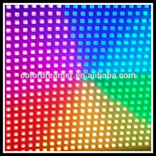 Colordreamer Madrix led PCB round panel sound and music control for djbooth nightclub stage