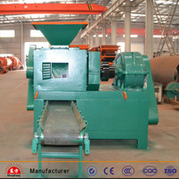 Industry high capacity sawdust charcoal briquette machine/coal briquette machine manufacturer from China