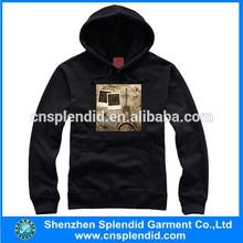 heat transfer printing hoody,plain french terry hoodies