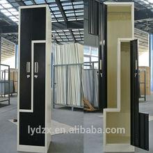 Knock down Z shape locker, steel locker, metal locker
