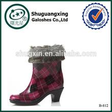 rubber boot overalls wardrobe wellington for winter| B-812