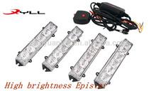rc 4x4 off road LED Car Grill Light, PMMA lens 16 pcs 0.5W high light LED ring light,led grill strobe light