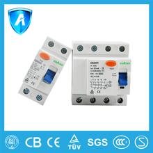 CE mark Modular Electrical 2P 40A 100mA RCCB