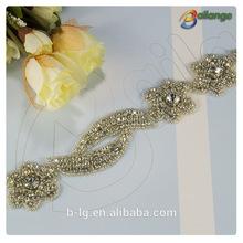 Bailange crystal rhinestone beaded garments accessories in china