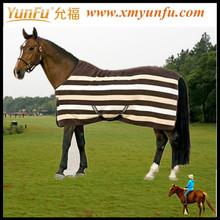 Caliente de moda caballo ecuestre ropa; ropa ecuestre con 600d lila tela tejida; ecuestre w&b ropa