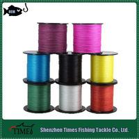 Best Quality Multicolored High Tenacity 4 Strand Braid Fishing Lines