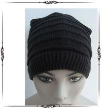 Stripe Beanie/Neck Warmer /Ski Bandana /100% Acrylic Knitting Hat