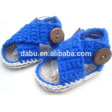 custom design fashion handmade crochet baby shoes