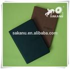 custom pu/pvc/leather hard cover diary notebook