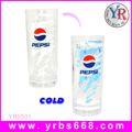 منتجات بيبسي بيبسي مذهلة تعزيز هدية!!! تغيير لون زجاج الساخنة والباردة منتجات بيبسي