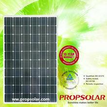 solar panels 200 watt With CE,TUV,UL,MCS Certificates in best price