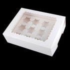 Food industrial use white cardboard material paper cake tray boxes