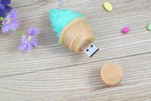 2014 new products icecream PVC usb flash drive novelty usb flash drive 4gb made in china