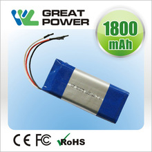 1.8ah 1004541 note book lithium polymer battery