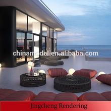 Customized 3d architectural visualization,rendering,animation,interior&landscape design,modeling, house plan scale model maker