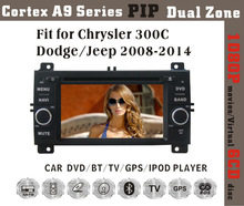 """6.2"""" HD 1080P BT TV GPS IPOD Fit for Chrysler 300C/Jeep/dodge2005-2007 car dvd car radio with gps"""