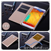 S-VIEW Window Smart FLIP LEATHER Case Cover for SAMSUNG GALAXY NOTE 3 III N9000 ,for samsung galaxy note 3 case