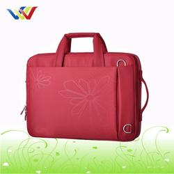 Custom Red Laptop Bag for lady