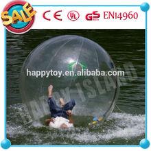 2013 HI Dia2m CE PVC air pump water ball,water walking ball for adult