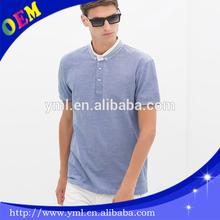 custom high quality cotton polo shirt cotton elastane for men