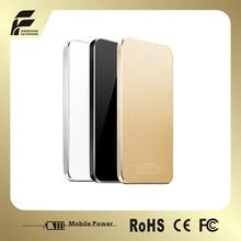2014 new 5000 mAh ultra slim universal portable portable power meter