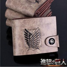 HOT Anime Attack on Titan Cosplay Wallet Purse Cosplay Accessory Bag Collectible