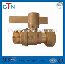 M/F brass ball valve stem
