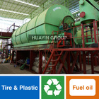 Crude Oil Making From Tire/Plastic By Pyrolysis Plant