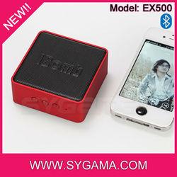 IBomb cube speaker smartphone accessories 2014 hot sale bluetooth speaker smartphone accessories