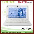 Laptop promozione 1gb 4gb con rj45 multi- la lingua 10,1 pollici