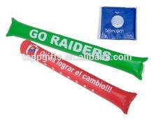 promotional balloon cheering thunder inflatable bang bang led cheering stick