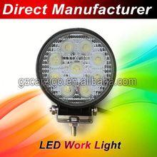 DC 48volt made in Shenzhen car accessories 110 lm/w 27 watt led work light