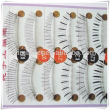 10 Pair Thick False Eyelashes Make up Eyes eyelash extension tools 10 Style Select