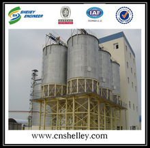 High safety used cone bottom steel silo cost