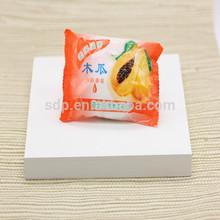 Ingredients of papaya soap