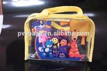 photo printing pvc zipper gift bag