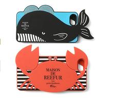 New arrival carton whale phone case