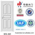 de estilo europeo de color blanco puro de una sola puertainterior puertas de estilo colonial
