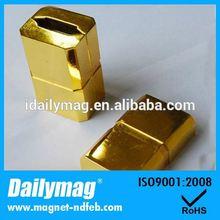 Permanent zinc nickel plated powermag magnetic fuel savers
