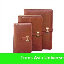 Hot Selling Custom Logo pu leather book cover